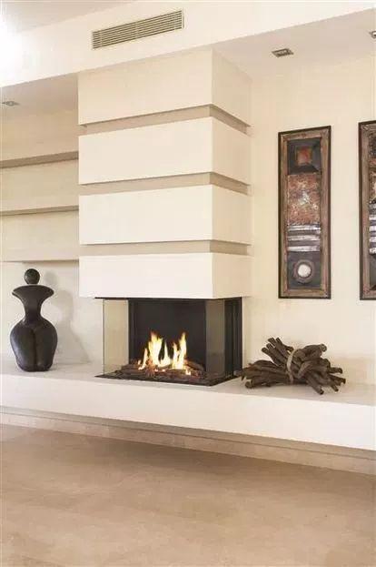 13+ Fantastic Contemporary Wood Burning Stove Idea…