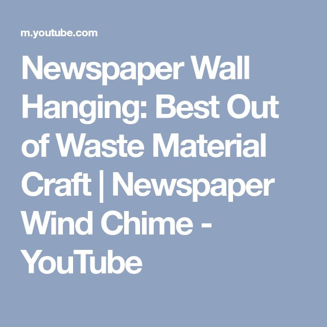 Best 25 waste material craft ideas on pinterest craft for Best out of waste wall hanging ideas