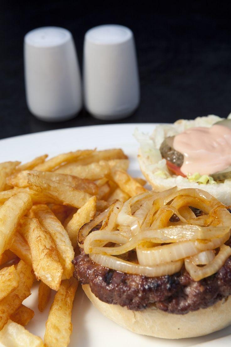 Turn 'n Tender Beef Burger 'n Chips