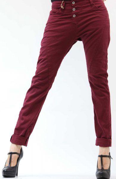 Please Store Jeans P78 Bordeaux  01