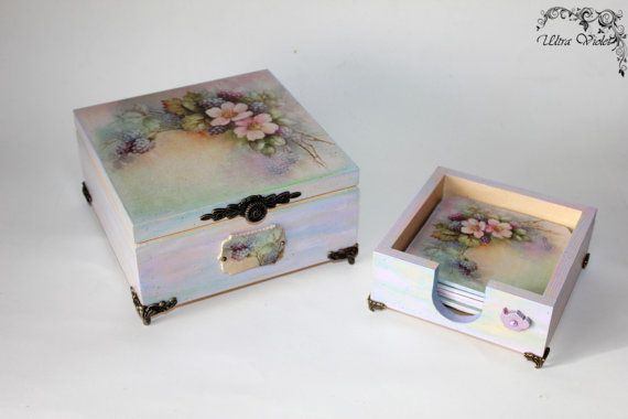 17 best images about decoupage wooden box on pinterest for Wooden box tutorial