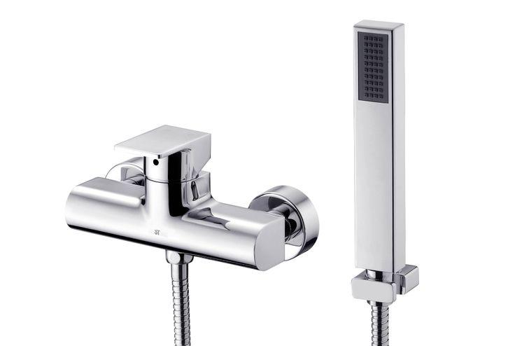ARCH Shower Mixer. #shower #mixer #faucet #JUSTIME
