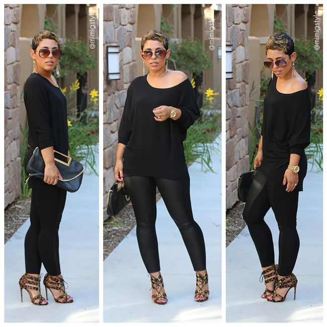Simple.. Classy... Sexy... All Black Friday - Mimi G Style