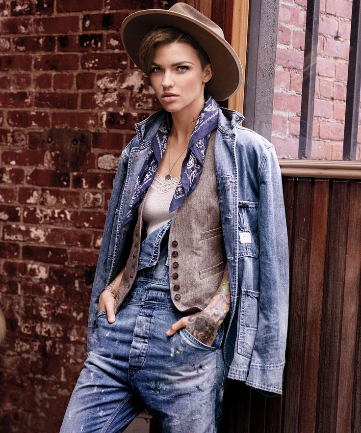 Ruby Rose Stars In Denim & Supply Ralph Lauren Ads
