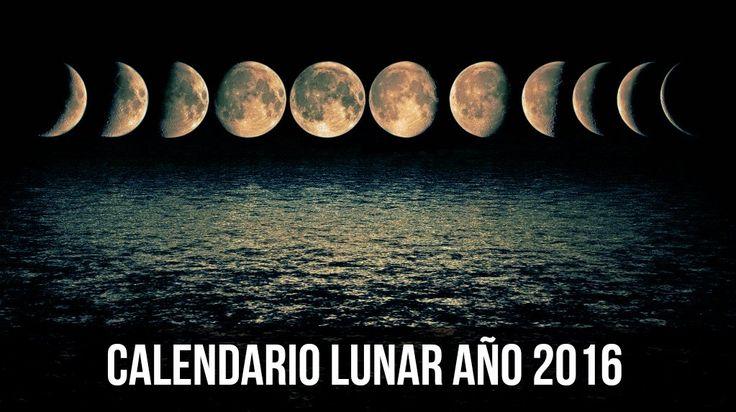 Lunaciones — Calendario Lunar Mayo 2016