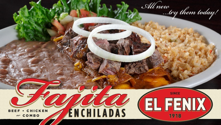 Not exactly a recipe, but El Fenix enchiladas are one of my favorite meals!