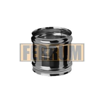 """Адаптер ММ 430 (0,5/0,8) на печном складе ФЛАММА    Адаптер ММ (430/0,5)-(430/0,8) отØ80 доØ300     Предназначен для подключения теплогенерирующего аппарата к системе дымоотведения. Элемент выполняется из стали толщиной 0,5 мм или 0,8 мм. В таблице приведены размеры и массы элемента в зависимости от диаметра и толщины стали.             Печной склад """"ФламмА""""  г.Серпухов ул. Московское шоссе 120Б, ТК """"На Московской"""" офис Г-8  +7-499-499-80-13  +7-999-002-80-13"""