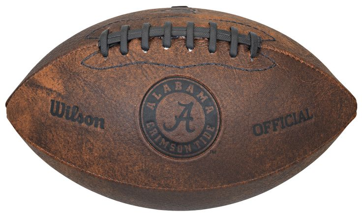 Alabama Crimson Tide Football - Vintage Throwback - 9 Inches
