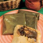 Tamales de mole