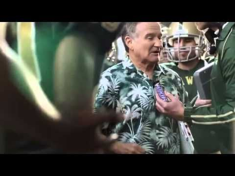 """RIP Robin Williams (1951-2014) ... One of my fave's of his ... Snickers Commercial Feat. Robin Williams. """"We will win this for mother Russia!"""""""