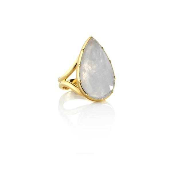 Brooke Gregson - Grey Sapphire Teardrop Ring