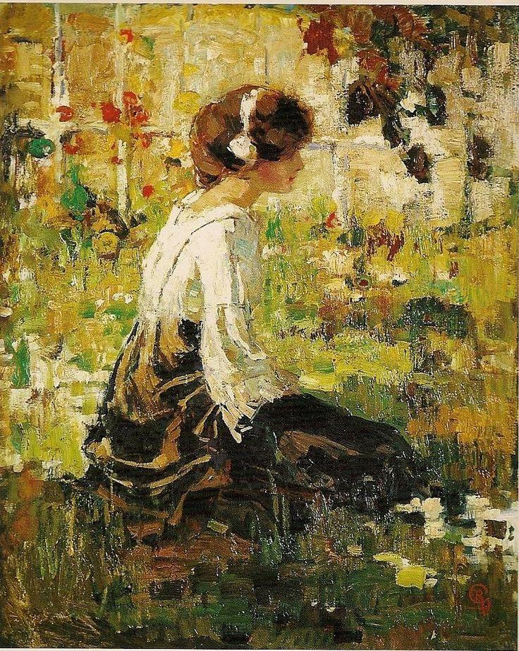 Robert Graafland, Meisje in de zon, 1914