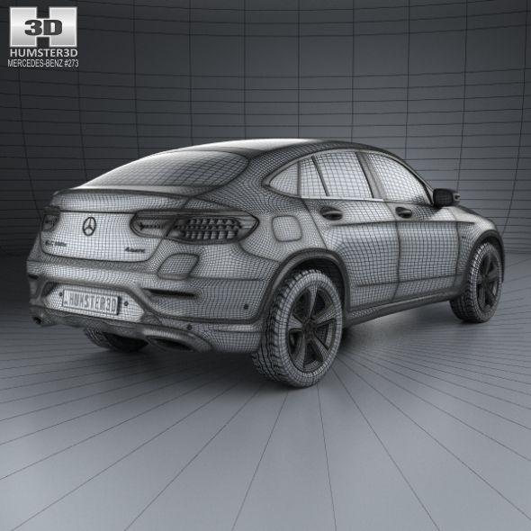 Mercedes Benz Glc Class X205 2015 3d Model: Mercedes-Benz GLC-Class (C253) Coupe 2016 #GLC, #Benz