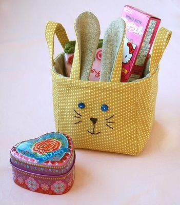 Bunny basket (zakka)