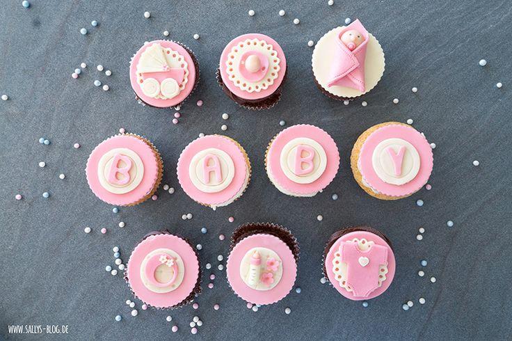 Baby-Cupcakes – Mädchen & Junge