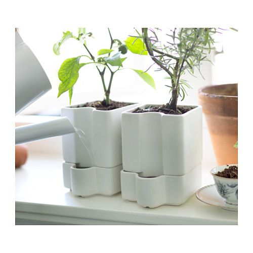 SÖTCITRON Self-watering plant pot  - IKEA
