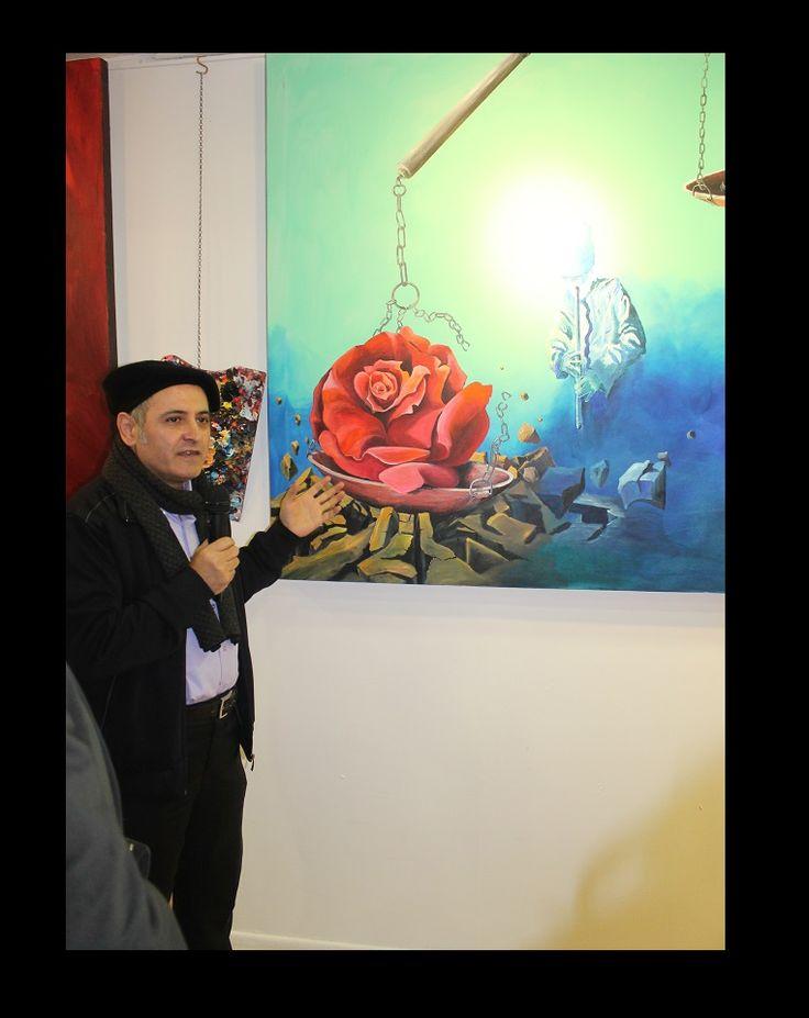 Mesneviden-Sanatçı sait Işık ve eseri