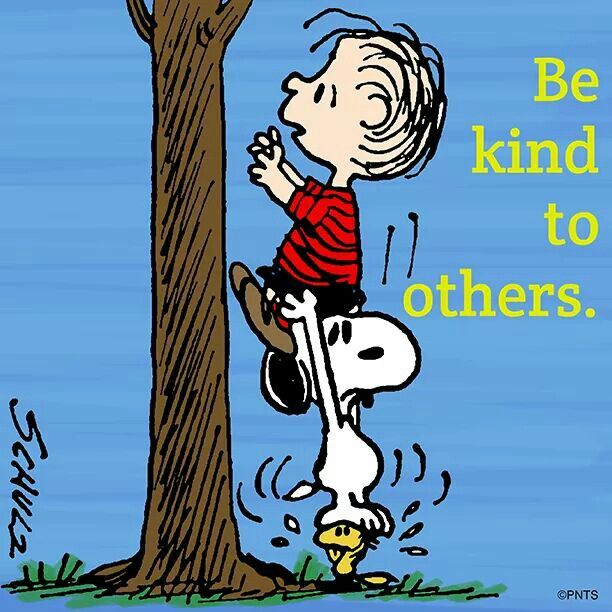 Linus, Snoopy and Woodstock It will make you feel Better ...