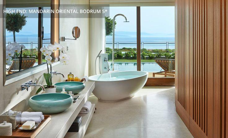 Purer Luxus auch im Bad