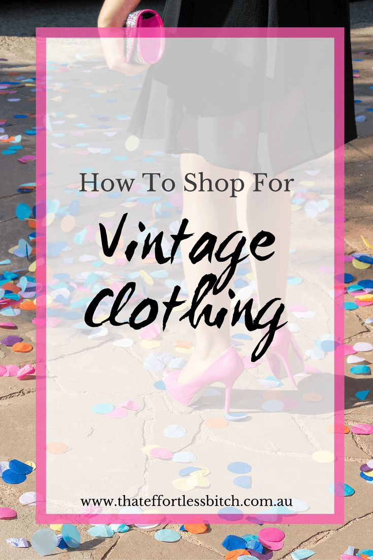 Fashion Stylist, Alarna Hope teaches you how to shop for vintage clothing. Click through to read the article and get access to fabulous downloadable fashion tips!