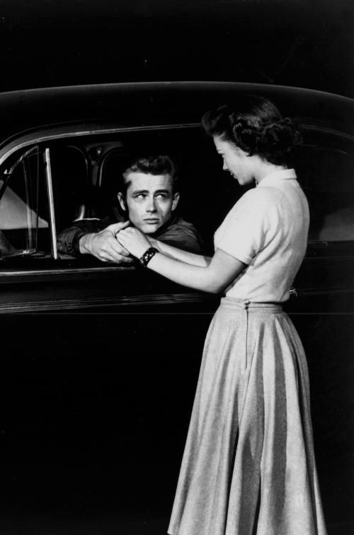James Dean & Natalie Wood in Rebel Without a Cause (1955)