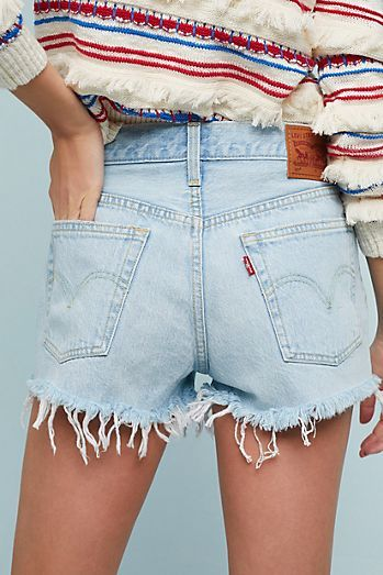 d2c5cfe9 Levi's 501 High-Rise Denim Shorts Anthropologie | April MOA Style in ...