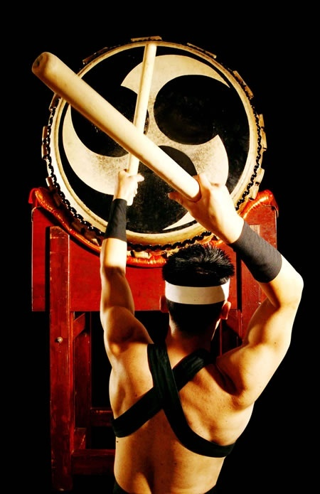 Taiko drumming is such beautiful Japanese music - but to be enjoyed late evening  or late afternoon :) #PBperfectsaturday with @Caitlin Burton Flemming and @Jessica Grinsteinner Barley
