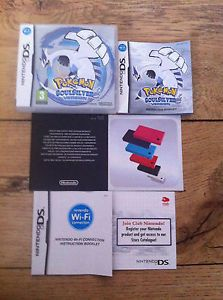 a no game pokemon soulsilver case instructions only nintendo ds soul silver