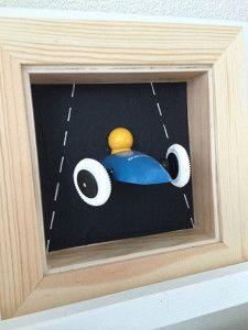 #DIY: 3D #auto #schilderij, de must-have voor elke #jongenskamer