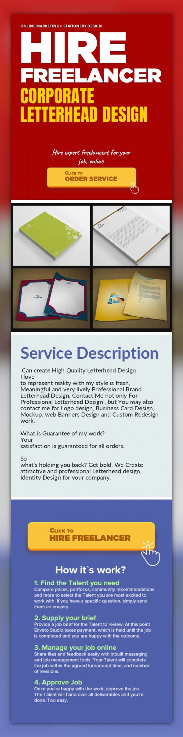 Corporate Letterhead Design Online Marketing, Stationery Design    Can create High Quality Letterhead Design  I love to represent reality with my style is fresh, Meaningful and very lively Professional Brand Letterhead Design, Contact Me not only For Professional Letterhead Design , but You may also contact me for Logo design, Business Card Design, Mockup, web Banners Design and Custom Redesign wo...