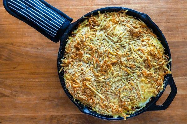 Беспроигрышный вариант для завтрака выходного дня: вкусно, ароматно, питательно! После такого блюда отличное настроение и заряд бодрости гарантированы!