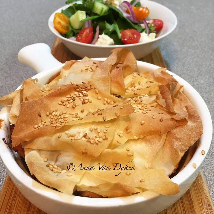 Chicken, Leek & Mushroom Individual Pies