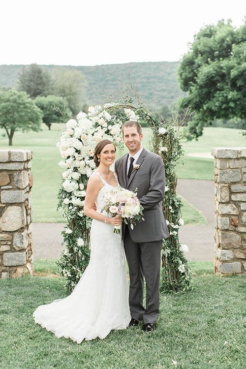 Virginia Wedding At Evergreen Country Club In Haymarket