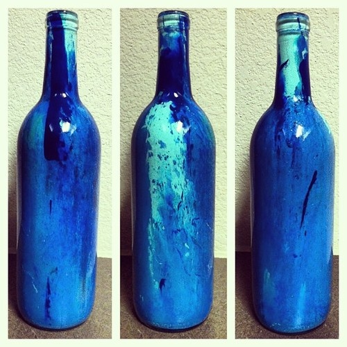 1000 images about rubbing alcohol arts etc diy on for Can acrylic paint be used on glass bottles
