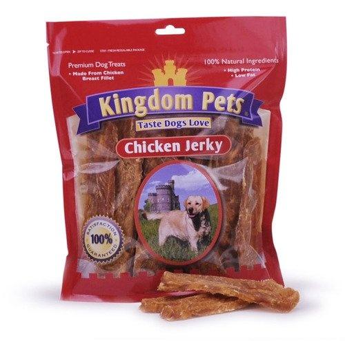 Kingdom Pets Premium Dog Treats, Chicken Jerky, 48Ounce