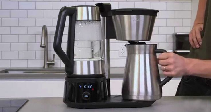 A Barista Style Coffee Maker