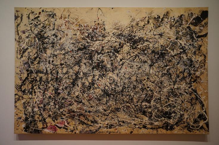 Jackson Pollock, MoMA New York