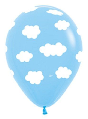 1000 images about hot air balloon party on pinterest for Silver cloud balloons