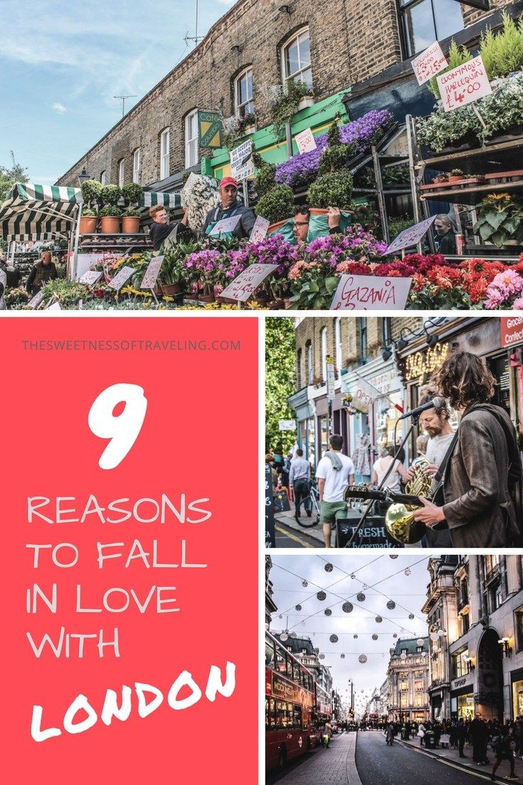 9 reasons to fall in love with London! What's life like and what are some fun things to do in London? Read this travel blog to find out.