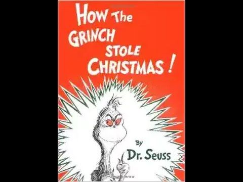 How the Grinch stole Christmas by Dr. Seuss, audio book - ReadingLibraryBooks - YouTube