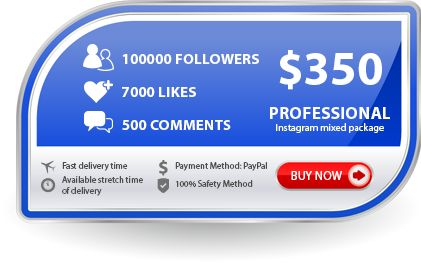 Instagram Studio - buy real Instagram Followers & Likes fast and cheap using PayPal or a credit card Visa, MasterCard. http://cornjob.com/buy-quality-instagram-comments-mixed-packages.html