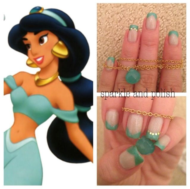 Princess Jasmine Nails: 100+ Best Princess Jasmine Nails Images By Stephaney