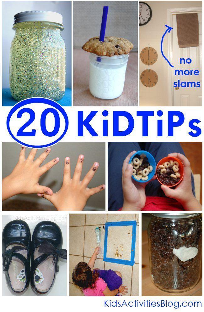 20 Kid Tips to help make life easier :)