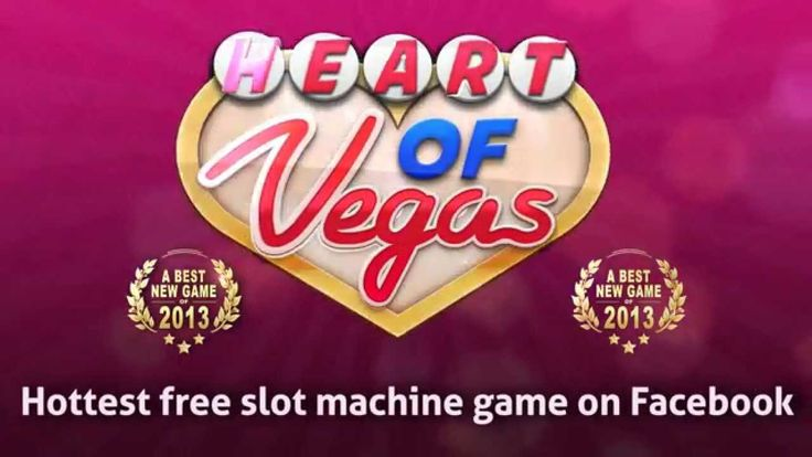 Heart of Vegas: Play Free Casino Slots! #heartofvegas #freecasino #freeslots #facebookgames