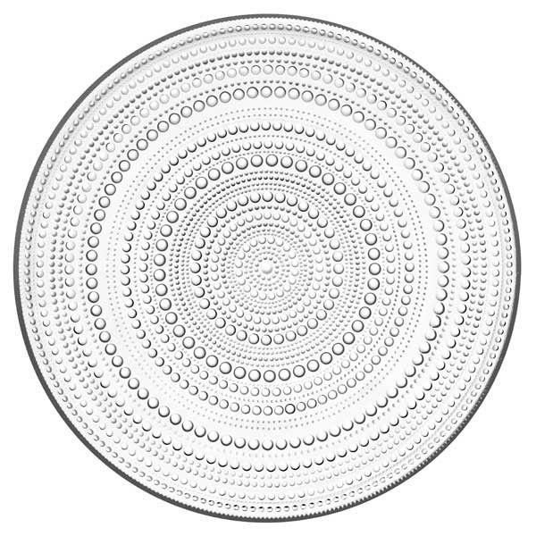Iittala - Kastehelmi - Tallrik klar 31,5 cm