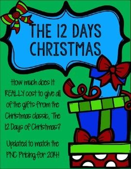 How Much Does It Cost >> How much does it REALLY cost to give all of the gifts from the Christmas classic, The 12 Days of ...