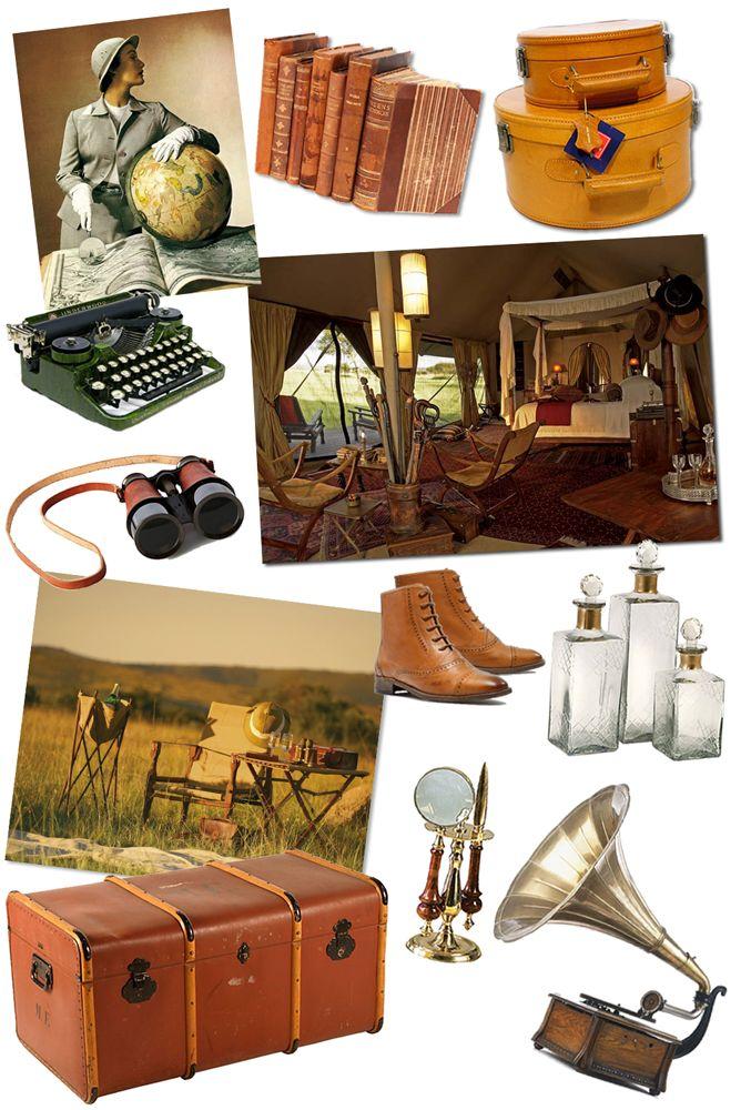 Make Play Wander: Travel Inspiration: Vintage Safari Style