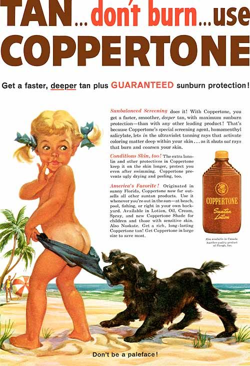 Bronzeador Coppertone - 1959                                                                                                                                                                                 Mais