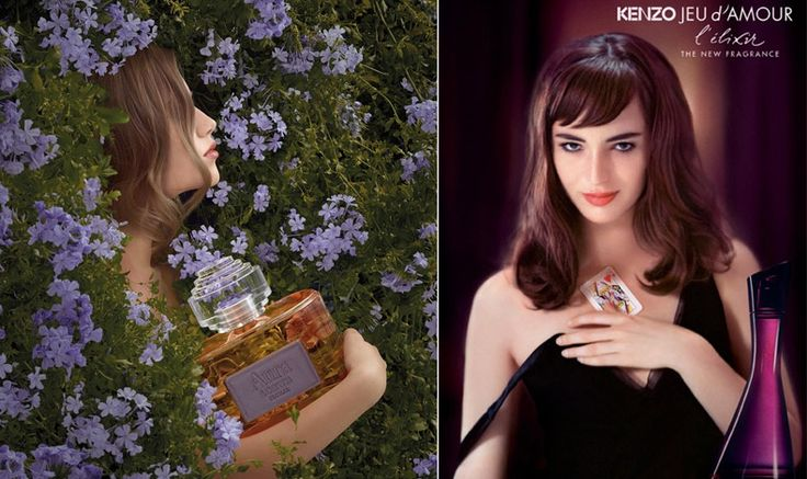 Find your perfume, according to youw sign! Αura Floral, Loewe for Scorpio // Jeu d' Amour L' Elixir του Κenzo for Saggitarius