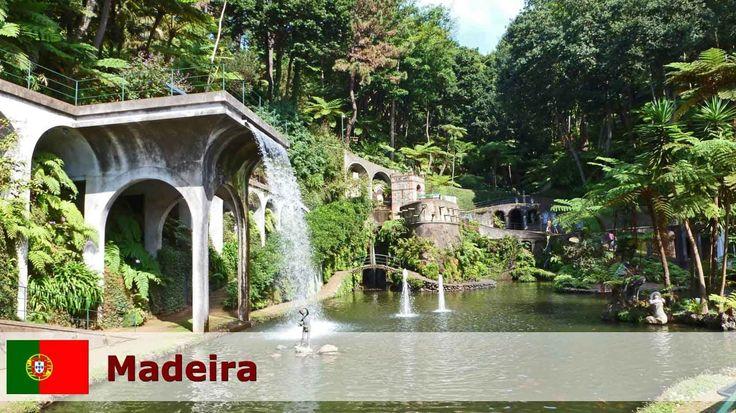 Madeira - Portugal - Den vakreste severdigheter